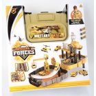 Special Forces Military Base Hot Back Pack Wheels Car Play Set