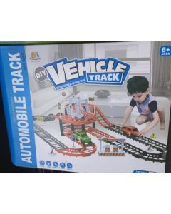 vehicle tracK DIY AUTOMOBILE TRACK TOY SUIT 6AGE