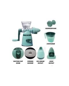 MEILEYI 2 IN 1 HAND JUICER and ICE CREAM MAKER MLY-662