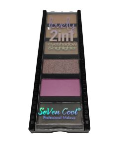 SEVEN COOL Eyeshadow Palette2 IN 1 No 01