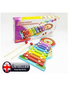 1-3 years old Baby Music Perception harp small Xylophone Eight Hand Knock MO0