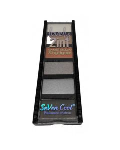 SEVEN COOL Eyeshadow Palette2 IN 1 No 03