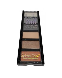 SEVEN COOL Eyeshadow Palette2 IN 1 No 02
